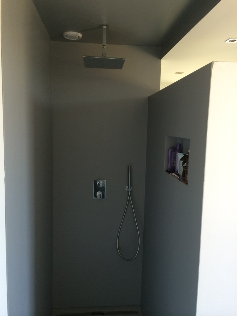 badkamer gladde coating stucadoorsbedrijf luschen, Meubels Ideeu00ebn