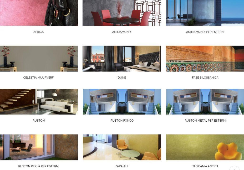 Novacolor , luxe en decoratieve pleister en verf systemen
